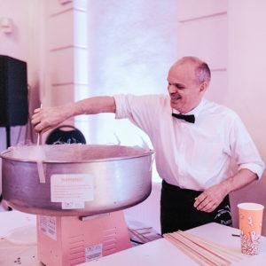 Alles voor uw party catering suikerspinnen